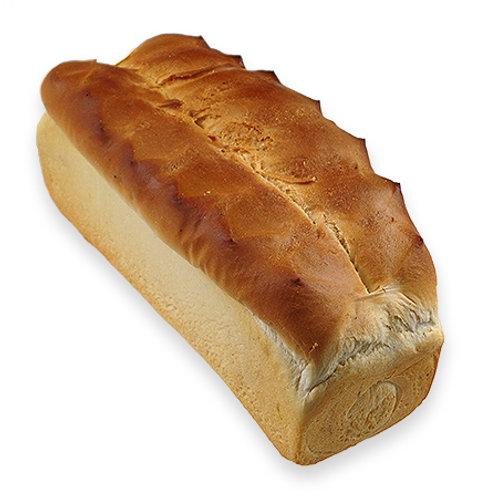 Knipwit brood gesneden