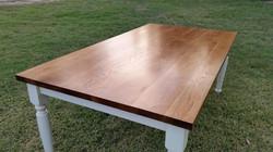 pecan farmhouse table