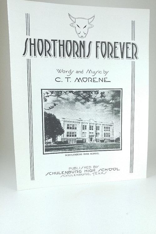 Shorthorns Forever Sheet Music