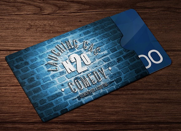 Laughing Gas Comedy Club Gift Card