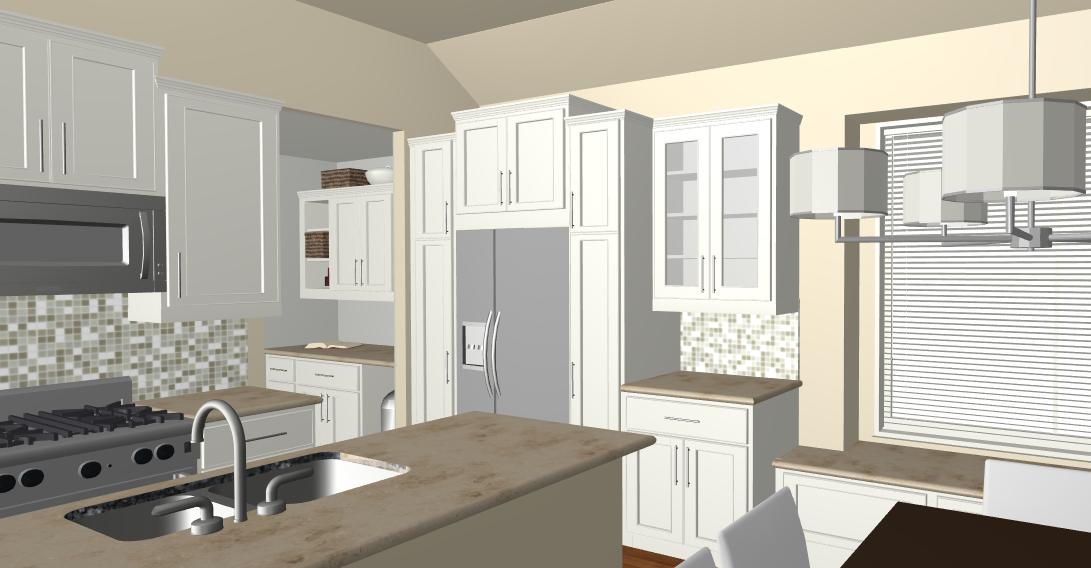 kitchen design & render