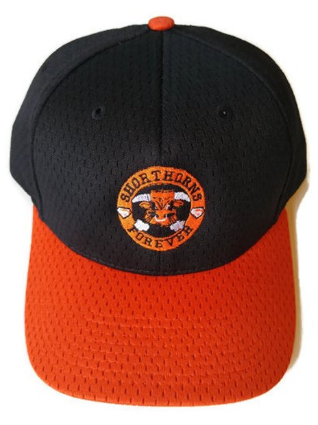 Shorthorns Forever Ball Cap - Black & Orange