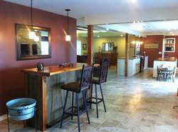 custom pine bar