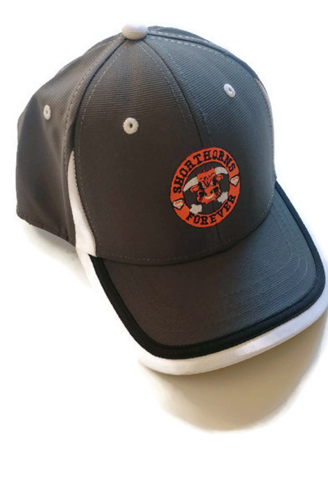 Shorthorns Forever Ball Cap - Charcoal Gray w/ Black