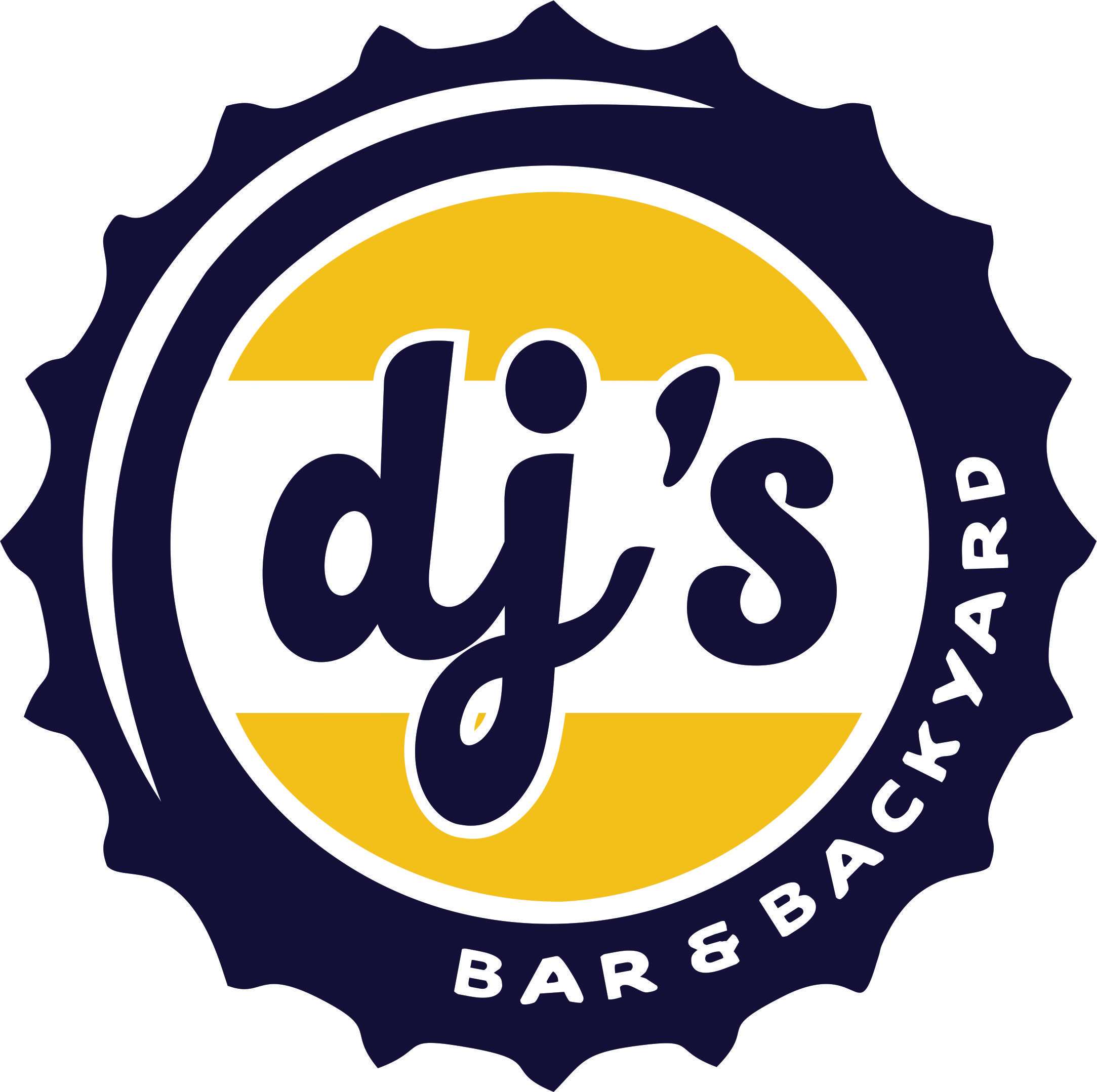 DJ's Bar Logo Design