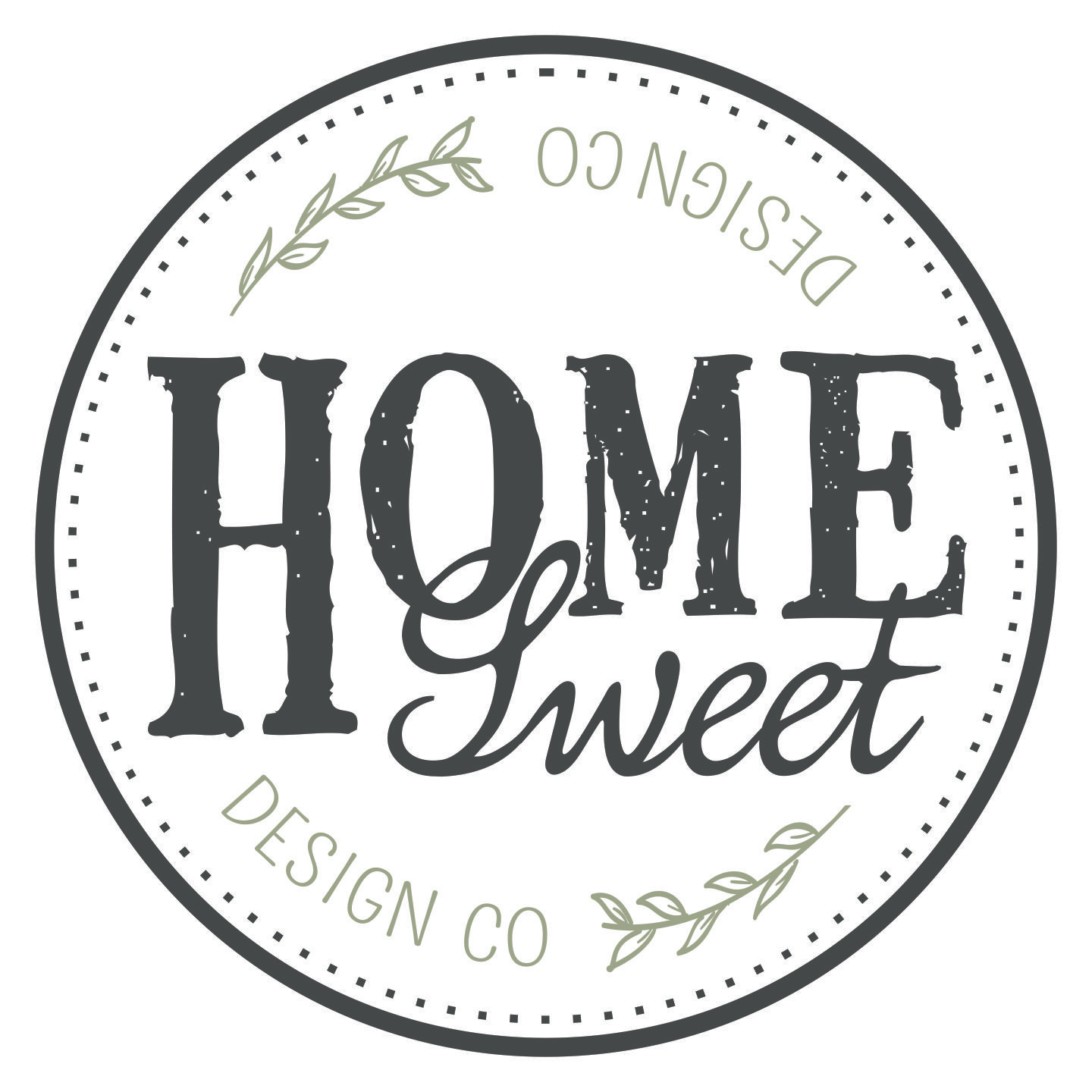 Home Sweet Design Co Logo
