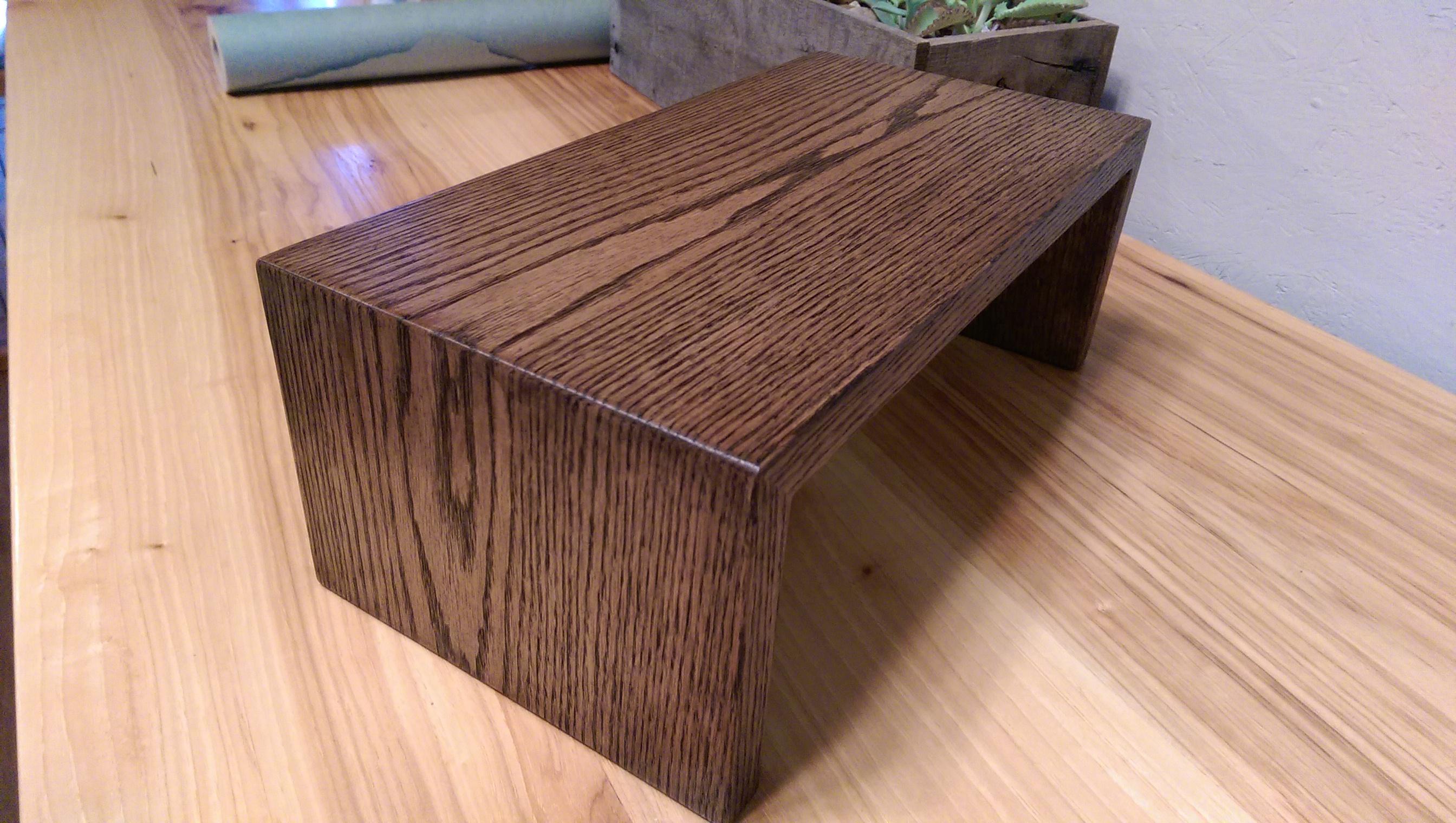 oak couch wrap
