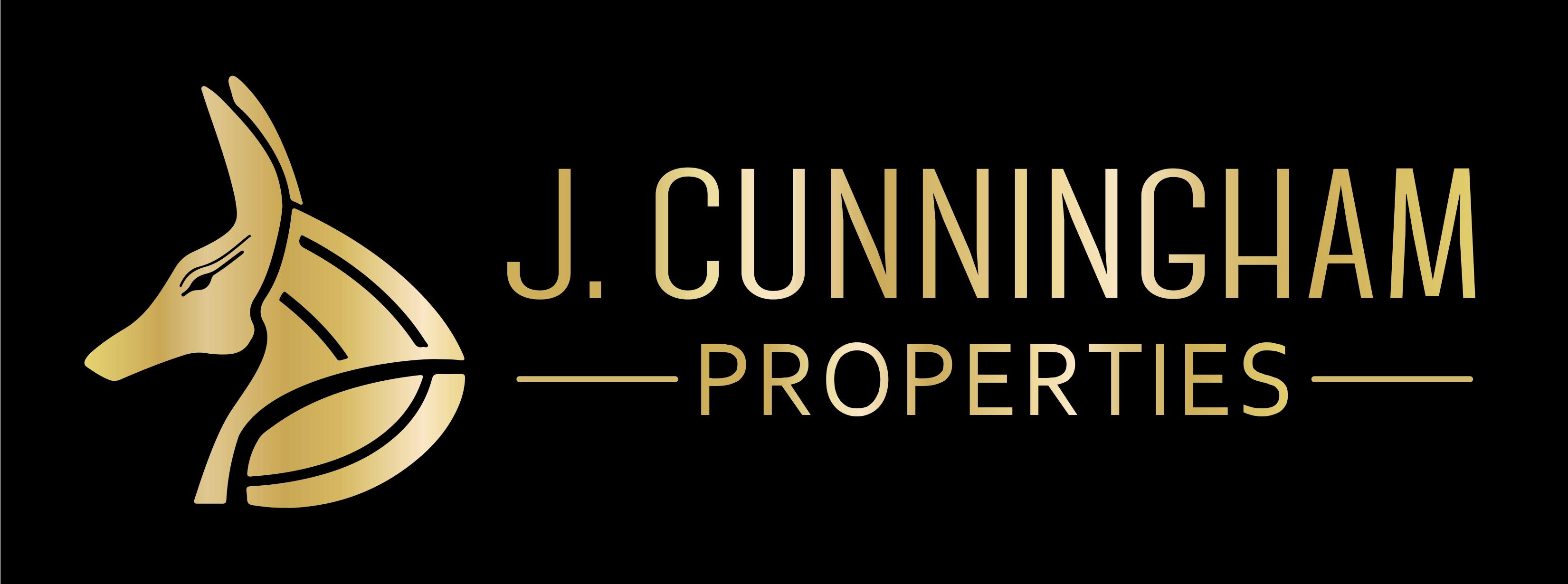 J. Cunningham Properties Logo Design