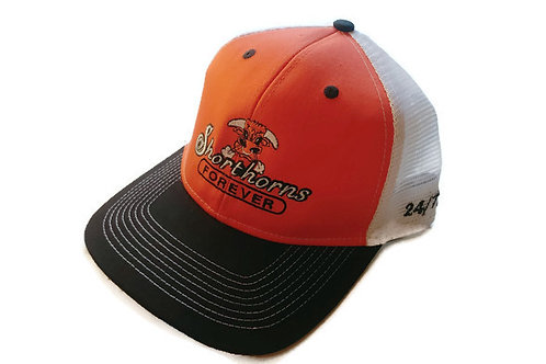 SFA Ball Cap - Orange with White Mesh
