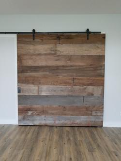 steel framed door