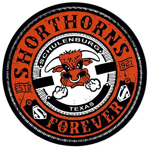 Shorthorns Forever Vinyl Window Decal