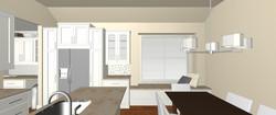 kitchen design & render