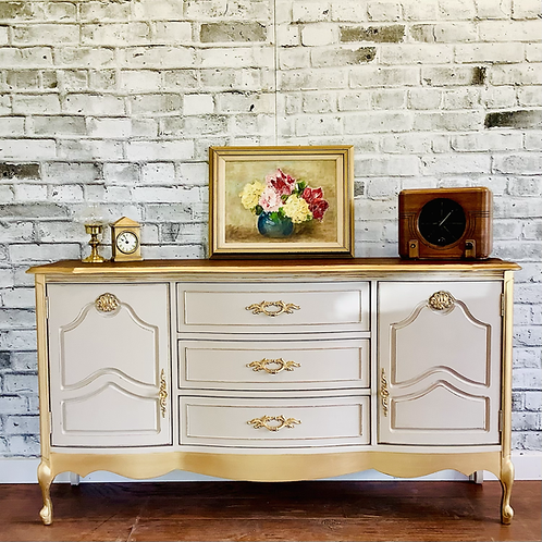 ****SOLD*****FRENCH PROVINCIAL SIDEBOARD