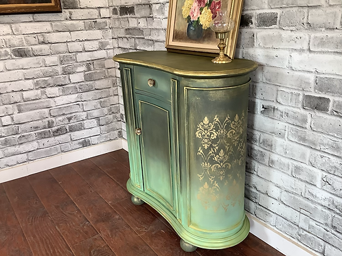 KIDNEY SHAPED ACCENT TABLE