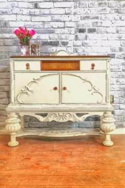 ****SOLD****Small Jacobean Sideboard/buffet