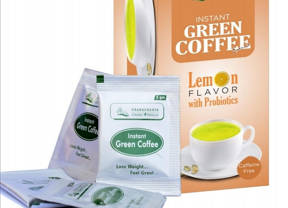 Lemon Green Coffee Sachet