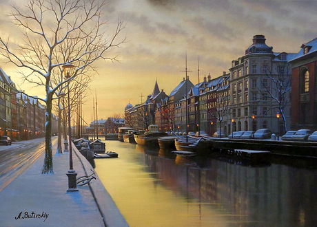 Winter Morn - Amsterdam, 643abut.JPG