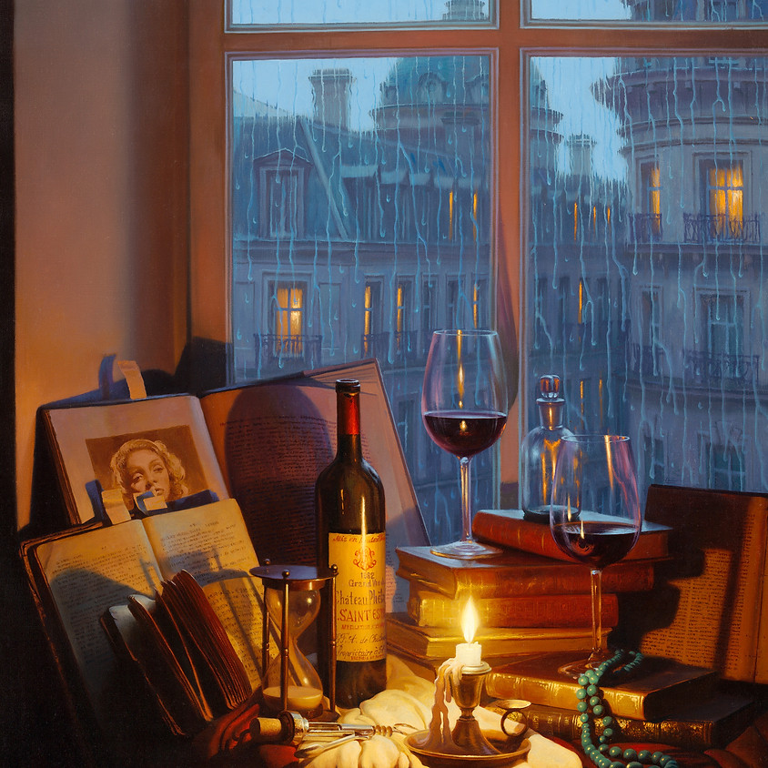 Alexei Butirskiy - Painting Live in beautiful St. Petersburg, Florida