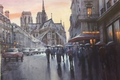 OurLadyParis.Watercolor.ABFAW-044.11x16.