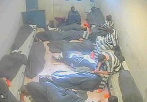 Louisiana jail cell