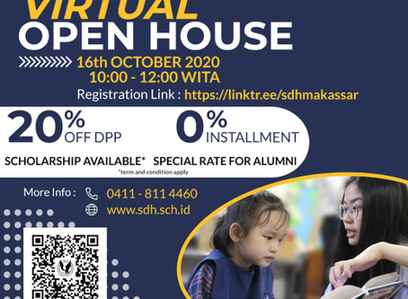 Virtual Open House 16th October 2020
