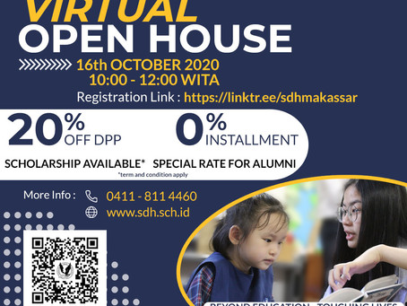 Virtual Open House 16th October 2020