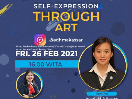 Self-Expression Through Art - IG Live
