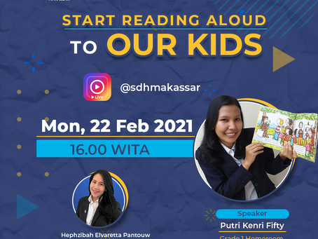 Start Reading Aloud to Our Kids (IG Live)