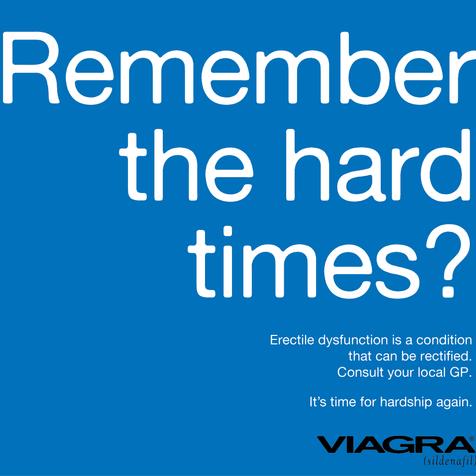 Viagra Print Ad Full wall print