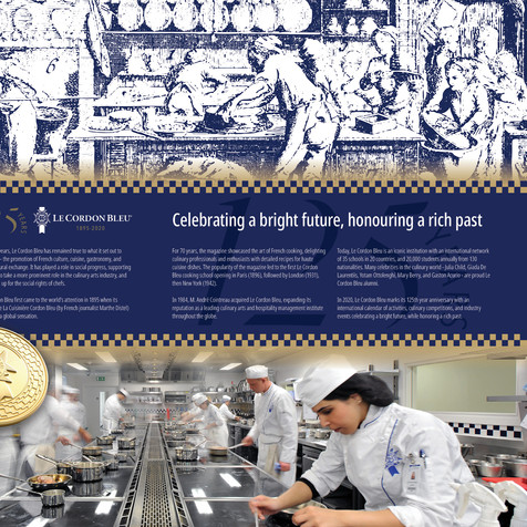 Le Cordon Bleu 2021 Brochure Design