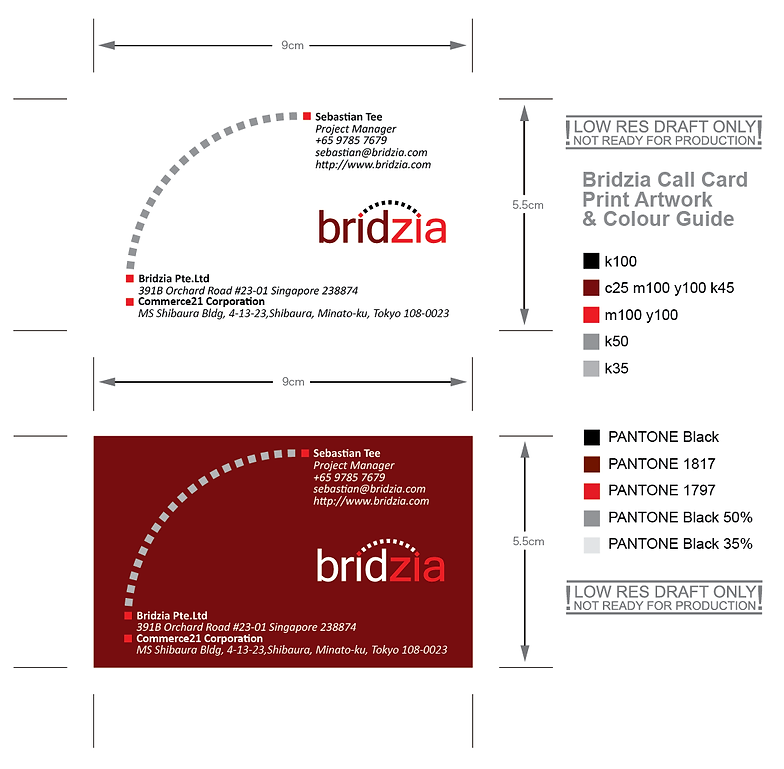 Graphic content creative studio packaging bridzia business card reheart Images