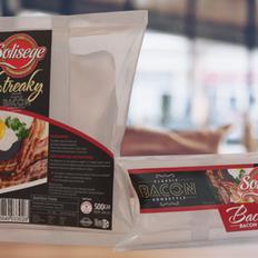 Solisege Bacon Packaging Design