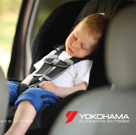 Yokohama Batteries Advertising campaign