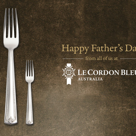 Le Cordon Bleu Fathers Day Social Post