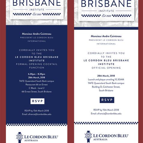 Le Cordon Bleu digital Email Invitation