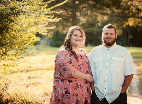 Taylor & Bryce's Rustic Sunset Engagement