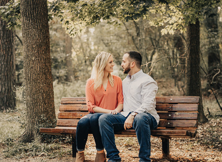 Kylie & Evan's Epic Garden Engagement