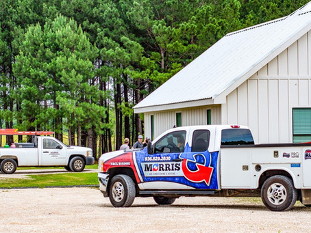 Family owned and operated - Morris Air Conditioning & Heating -Diboll, Tx