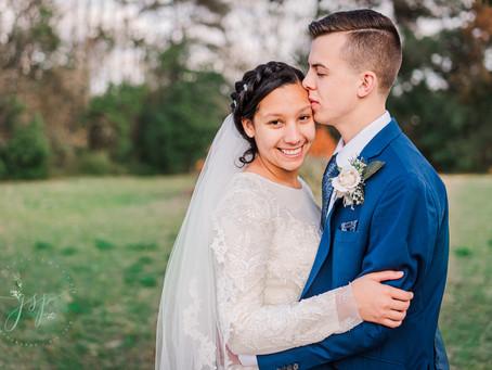 Kassidy & Christian's Wedding Day | East Side UPC| February 27th, 2021 | Nacogdoches, TX