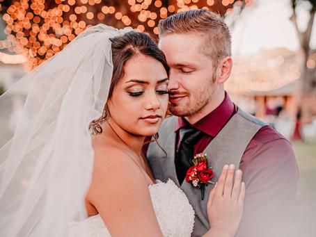Tiffany & Clayton's Gorgeous Wedding at Oak Tree Manor!