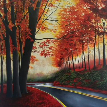 Winding Road SOLD