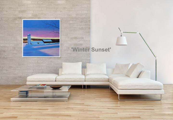 'Winter Sunset'