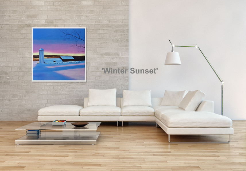 'Winter Sunset'