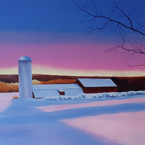 NEW! 'Winter Sunset'