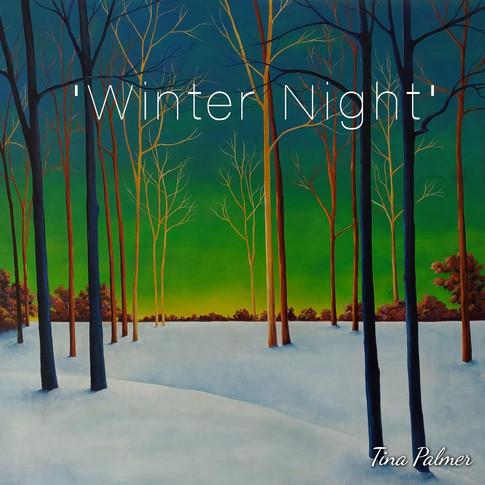 Winter Night 36x36