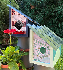 Mixed media mosaic birdhouse-2.jpg