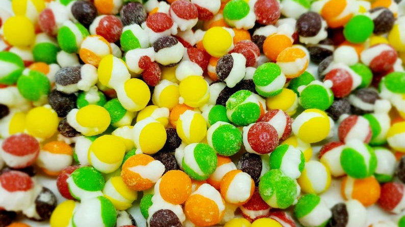 Sour Skittles Freeze Dried