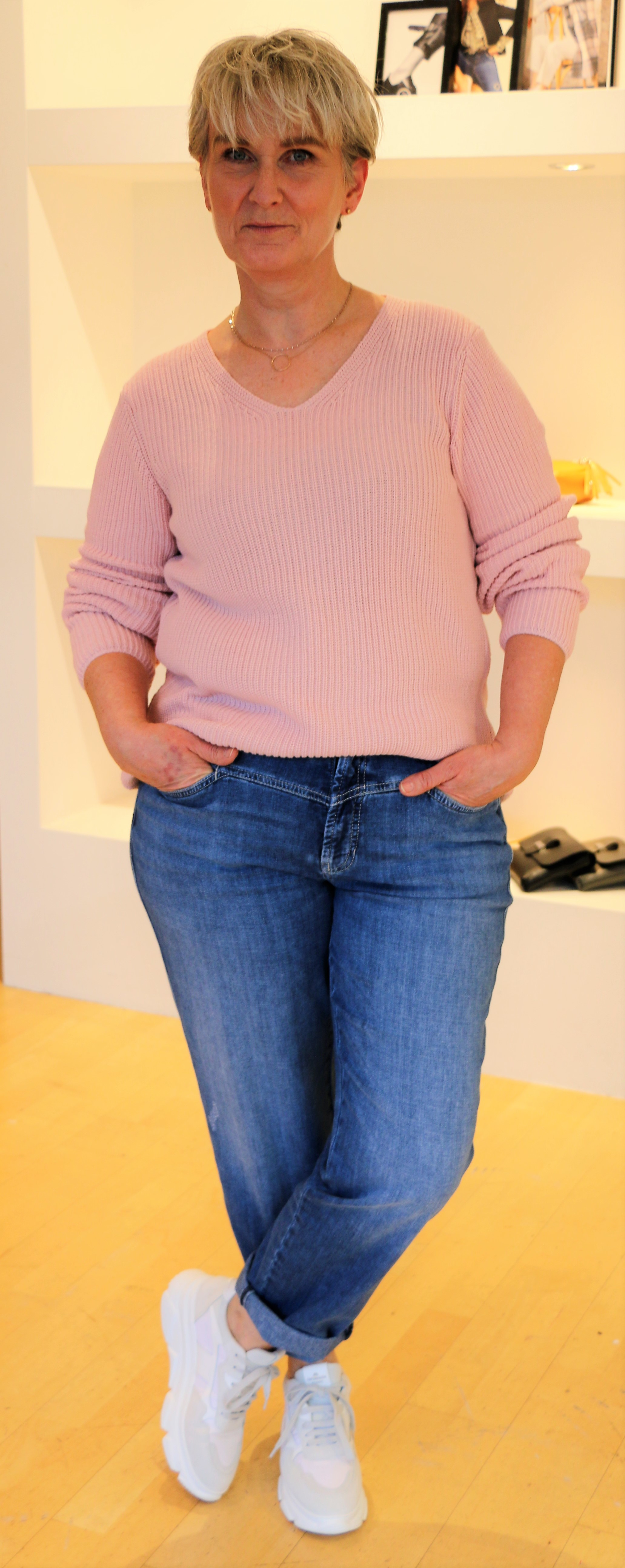 Bloomings Pulli & Cambio Jeans