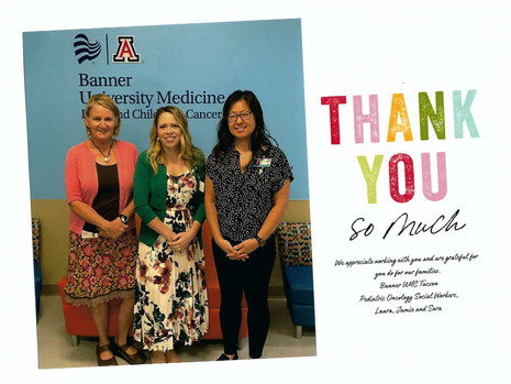 A Special Note from Banner UMC Tucson's Social Work Team