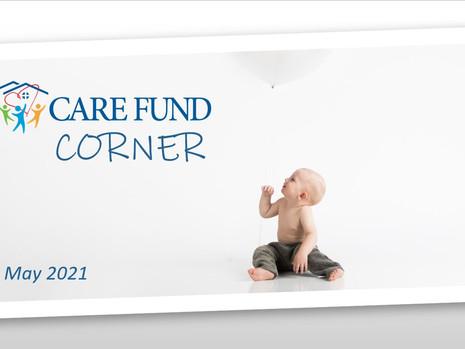 Crushing It!   May Care Fund Corner Newsletter